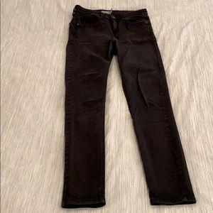 Topshop Black High-Waisted Jeans